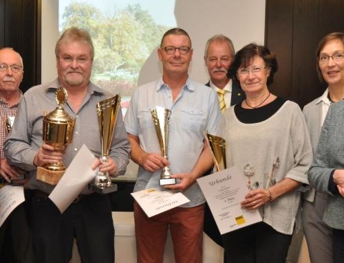 Siegerehrung der Touristischen Oldtimer Serie 2018